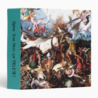 "Pieter Bruegel's ""The Fall Of The Rebel Angels"" 3 Ring Binder"
