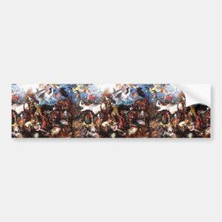 "Pieter Bruegel's ""The Fall Of The Rebel Angels"" Bumper Sticker"