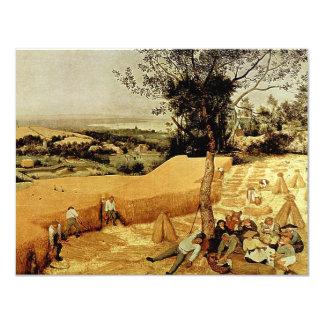 Pieter Bruegel's The Harvesters (1565) Invites