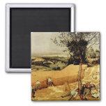 Pieter Bruegel's The Harvesters (1565) Magnets