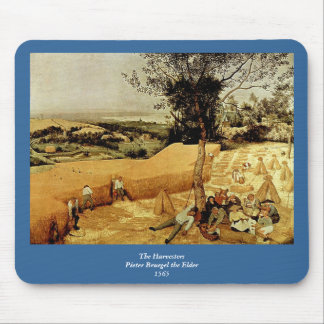 Pieter Bruegel's The Harvesters (1565) Mouse Pad