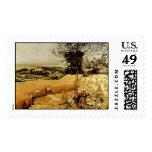 Pieter Bruegel's The Harvesters (1565) Postage Stamps