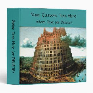 """Pieter Bruegel's The """"Little"""" Tower of Babel Binder"""