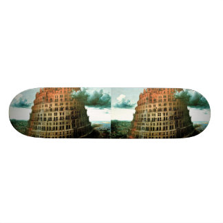 "Pieter Bruegel's The ""Little"" Tower of Babel Skate Decks"