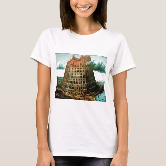 """Pieter Bruegel's The """"Little"""" Tower of Babel T-Shirt"""