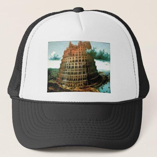 "Pieter Bruegel's The ""Little"" Tower of Babel Trucker Hat"