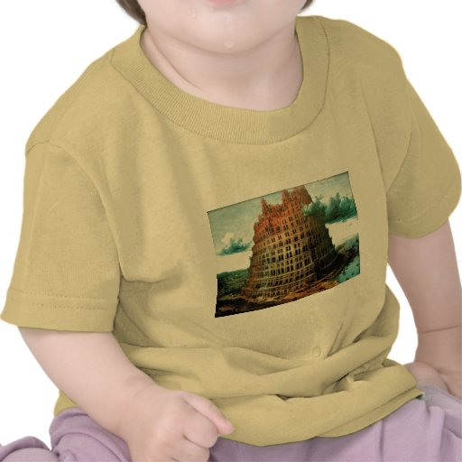 "Pieter Bruegel's The ""Little"" Tower of Babel Tshirt"