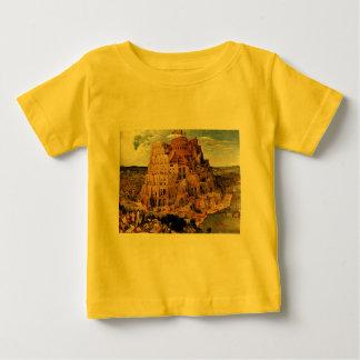 "Pieter Bruegel's ""The Tower of Babel"" (circa 1563) Baby T-Shirt"
