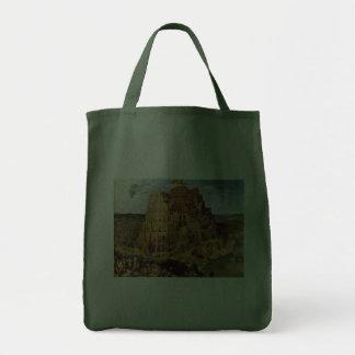 "Pieter Bruegel's ""The Tower of Babel"" (circa 1563) Tote Bags"