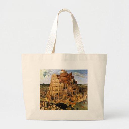 "Pieter Bruegel's ""The Tower of Babel"" (circa 1563) Jumbo Tote Bag"