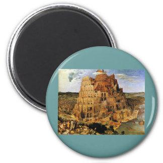 "Pieter Bruegel's ""The Tower of Babel"" (circa 1563) Magnet"