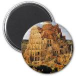 "Pieter Bruegel's ""The Tower of Babel"" (circa 1563) Magnets"