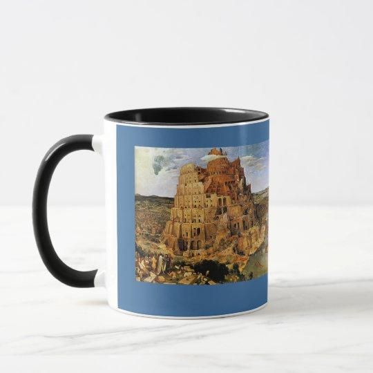 "Pieter Bruegel's ""The Tower of Babel"" (circa 1563) Mug"