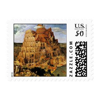 "Pieter Bruegel's ""The Tower of Babel"" (circa 1563) Postage"