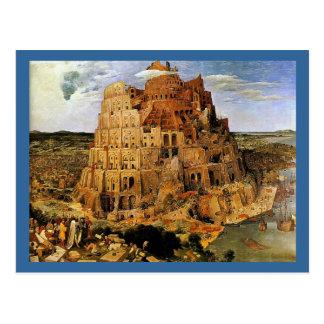 "Pieter Bruegel's ""The Tower of Babel"" (circa 1563) Postcard"