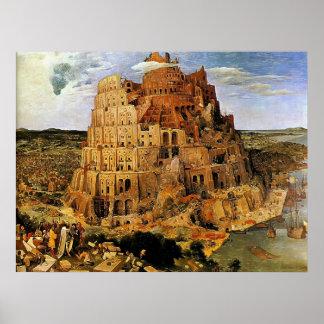 "Pieter Bruegel's ""The Tower of Babel"" (circa 1563) Print"