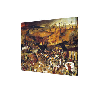 Pieter Bruegel's The Triumph of Death (1562) Gallery Wrap Canvas