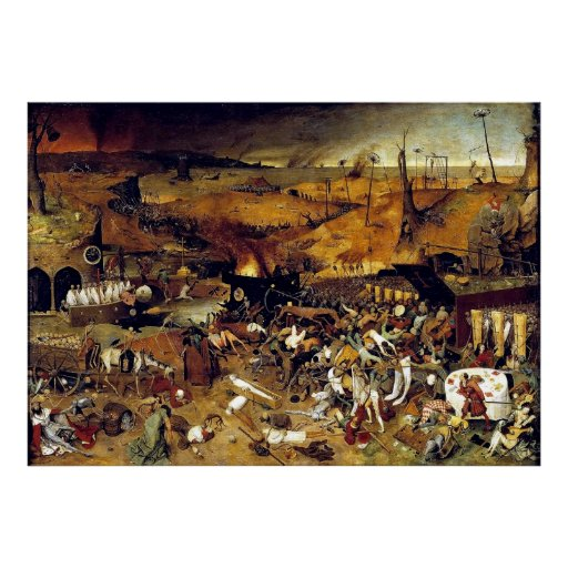 Pieter Bruegel's The Triumph of Death (1562) Poster