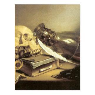 Pieter Claesz Vanitas Still Life Postcard