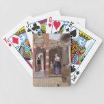 Pieter de Hooch- Courtyard of a house in Delft Card Decks