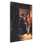 Pieter de Hooch - Merry Drinker Gallery Wrap Canvas