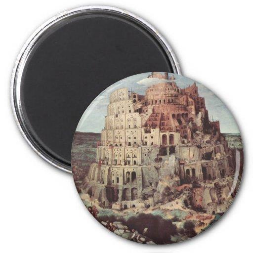 Pieter el más viejo arte imán redondo 5 cm