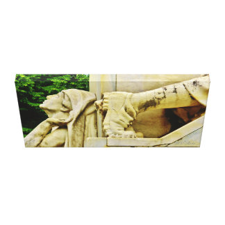 Pietrasanta War Memorial Detail, Wrapped Canvas