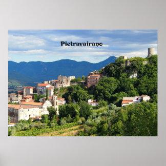 Pietravairano, Caserta, Italy Poster