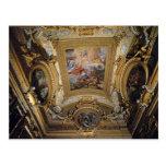 Pietro da Cortona: Fresco del techo en Pasillo de  Postal