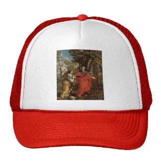 Pietro da Cortona- Return of Hagar Mesh Hats