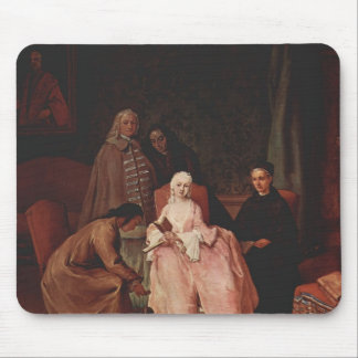Pietro Longhi- A Visit to a Lady Mouse Pad