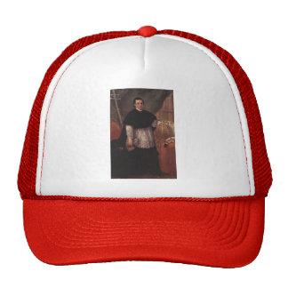 Pietro Longhi- Portrait of Benedetto Ganassoni Hats