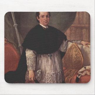 Pietro Longhi- Portrait of Benedetto Ganassoni Mousepads