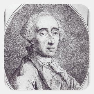 Pietro Longhi Square Sticker