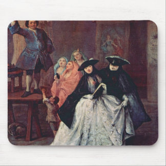 Pietro Longhi- The Charlatan Mouse Pad
