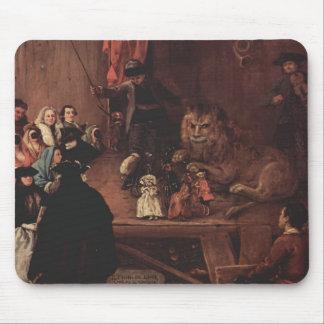 Pietro Longhi- The Lion s Cage Mousepad