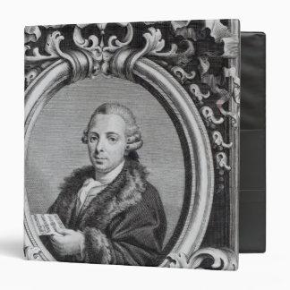 "Pietro Nardini, grabado por G. Batta Cechi Carpeta 1 1/2"""