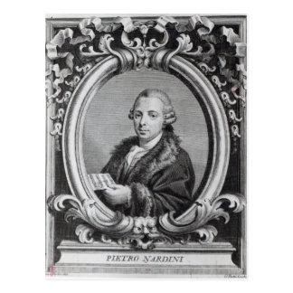 Pietro Nardini grabado por G Batta Cechi Postal
