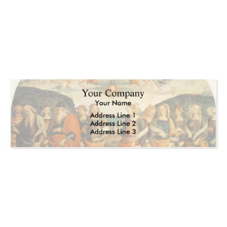 Pietro Perugino: Almighty with Prophets and Sybils Business Card