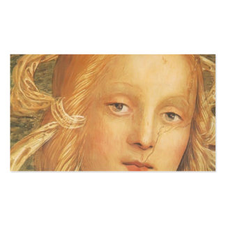 Pietro Perugino:Almighty with Prophets & Sybils Business Card Template