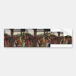 Pietro Perugino-Altarpolyptychon Bumper Sticker