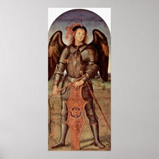 Pietro Perugino - Archangel Michael Print