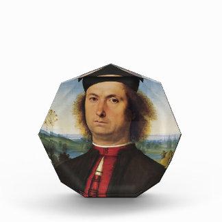 Pietro Perugino- Portrait of Francesco delle Opere Award