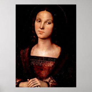 Pietro Perugino - St Mary Magdalene Poster