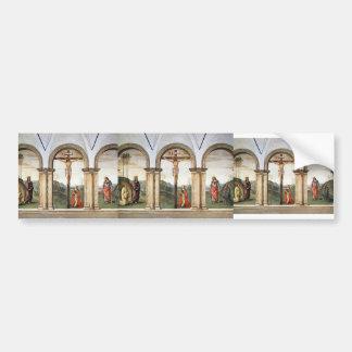 Pietro Perugino: The Pazzi Crucifixion Bumper Sticker