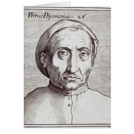 Pietro Pomponazzi Card