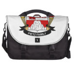 Pietz Family Crest Bag For Laptop