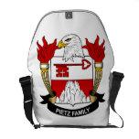 Pietz Family Crest Courier Bags