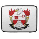 Pietz Family Crest Sleeve For MacBook Pro