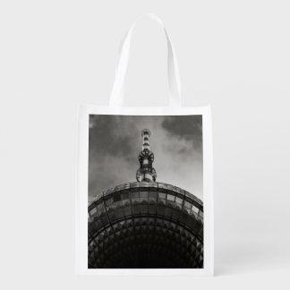 Pieza blanco y negro del círculo de la torre de bolsa para la compra